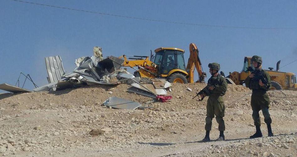 Yatta demolished facilities