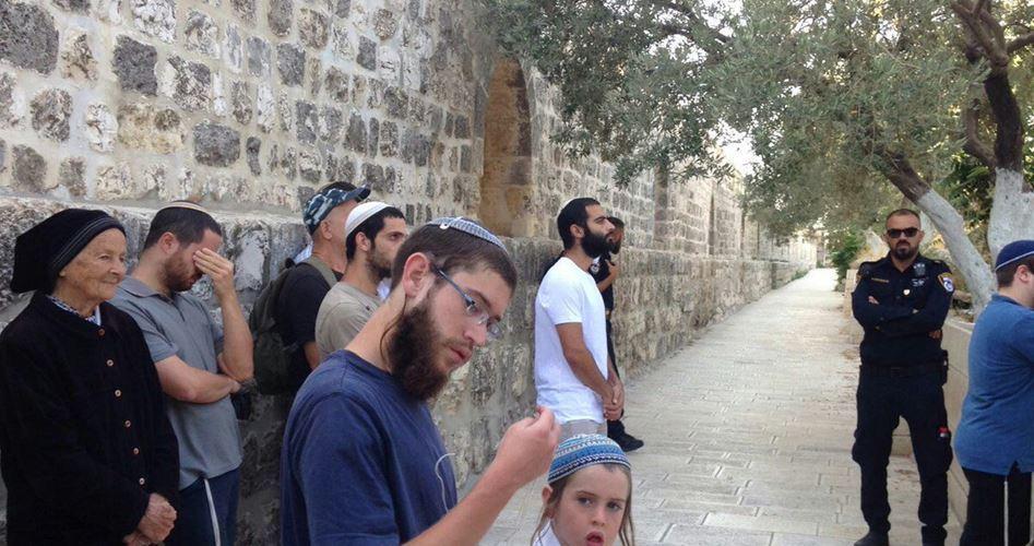 88 settlers stormed al-Aqsa