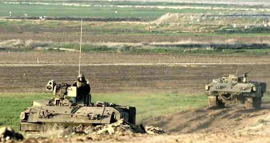 Again entered Gaza