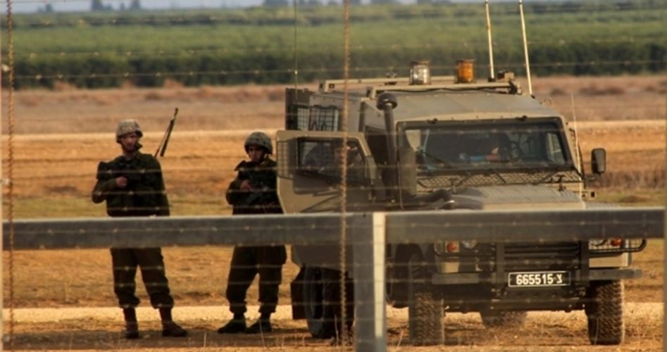 Arrested Gazans at border