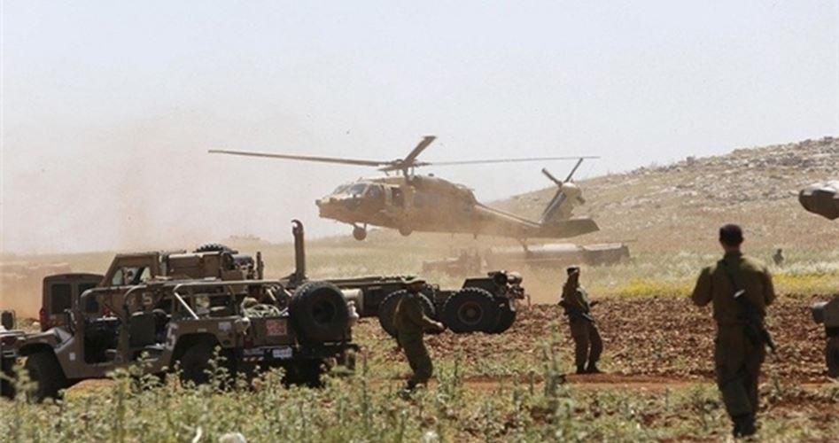 Excercise border Lebanon