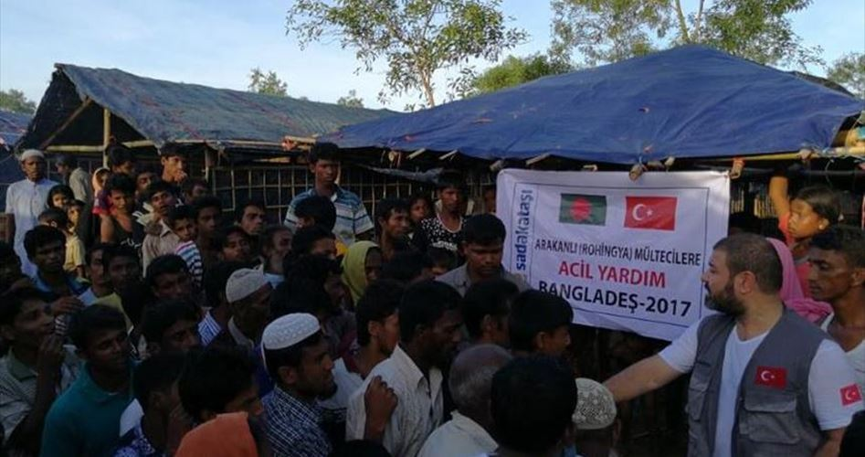 Help for Rohingya's