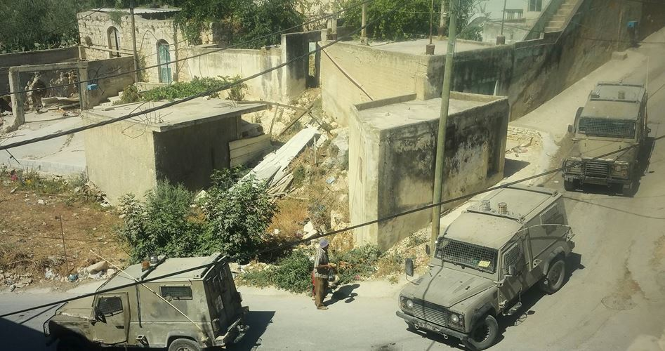 IOF breaks in home Beit Ummar