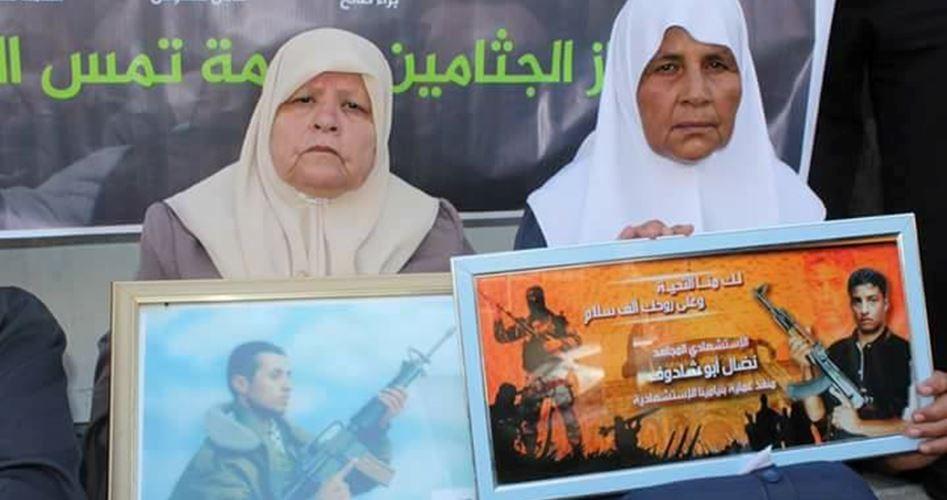 Return martyrs' bodies