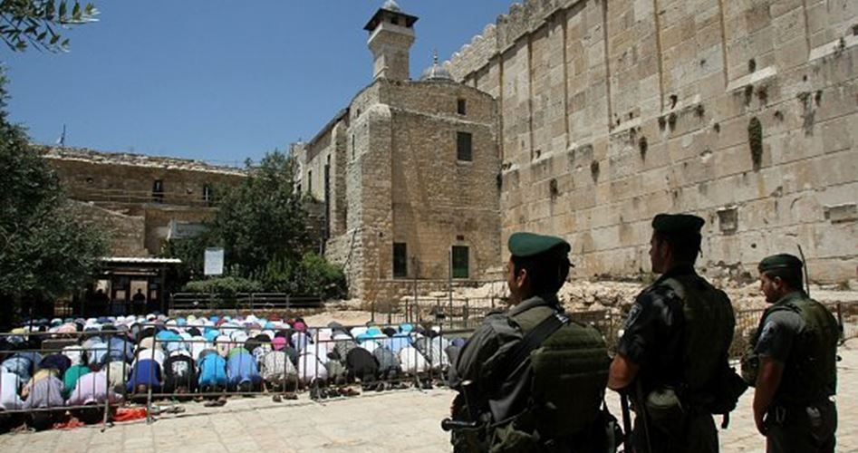 40000 Settlers stormed Ibrahimi Mosque