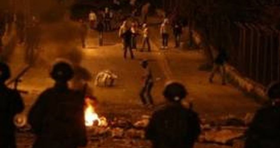 Attack by settlers Kiryat Arba