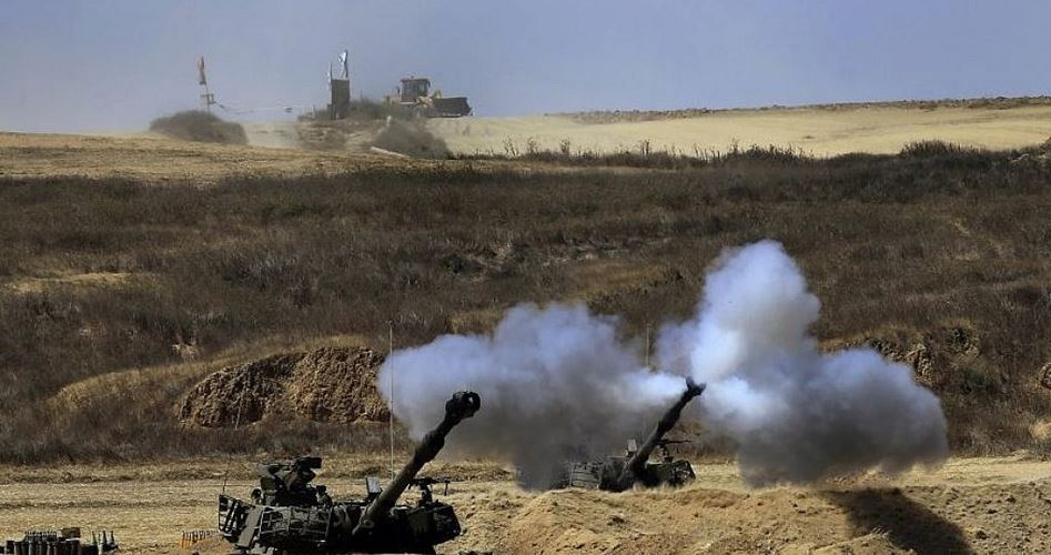 Drills east of Gaza