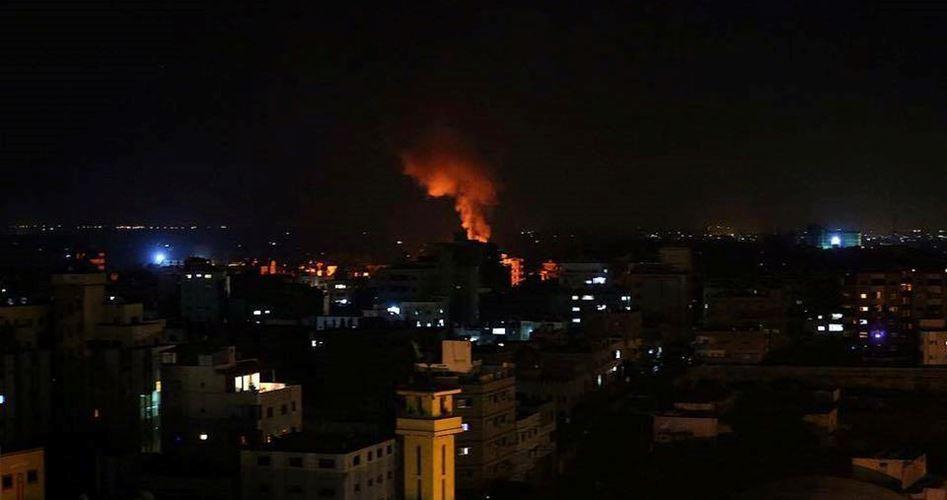 Gaza attacked and damage