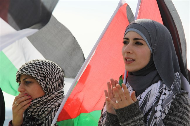 Palestinian women and rights