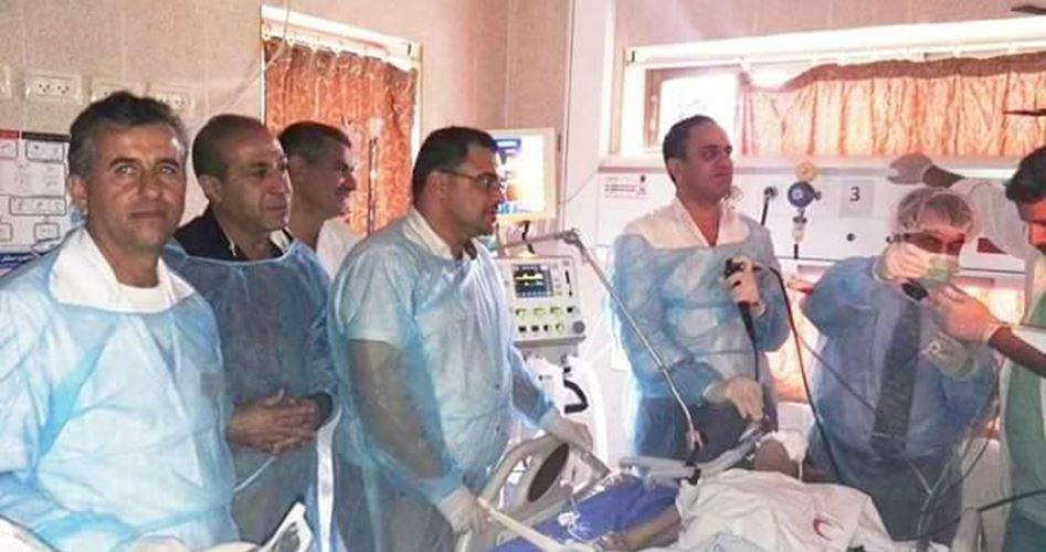 Qatari medics