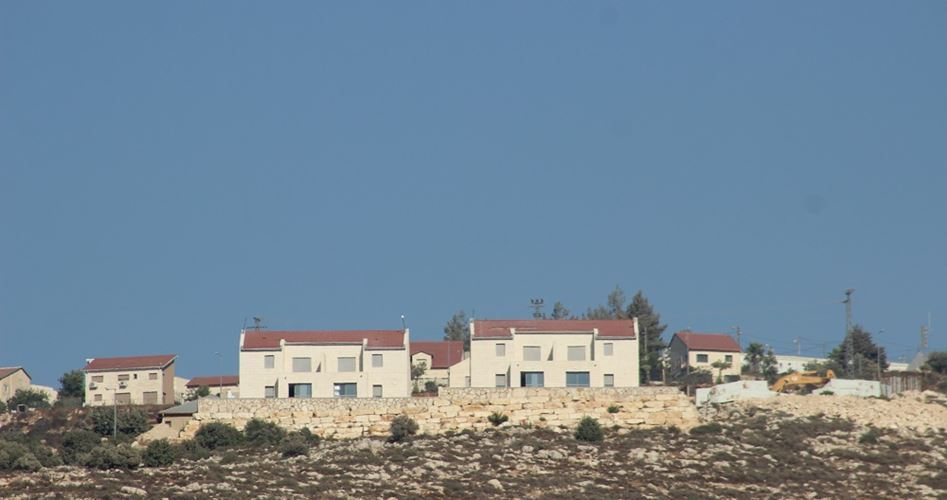 Settlement homes in Jabal al-Mukaber