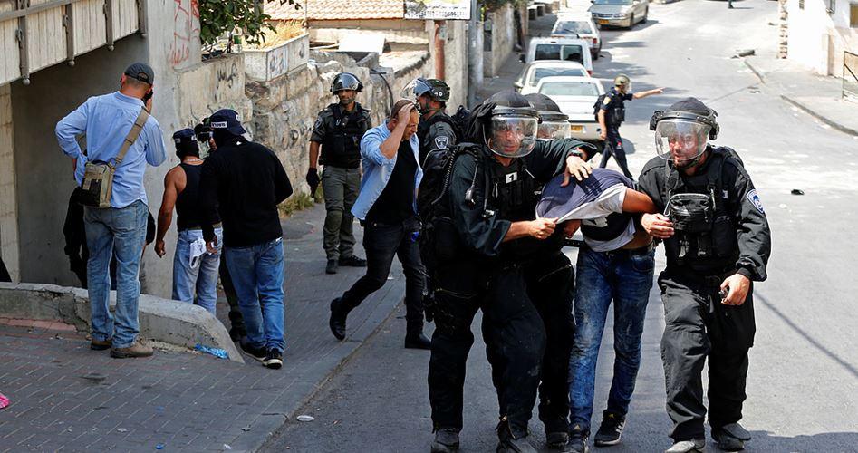 Undercover to arrest Palestinians
