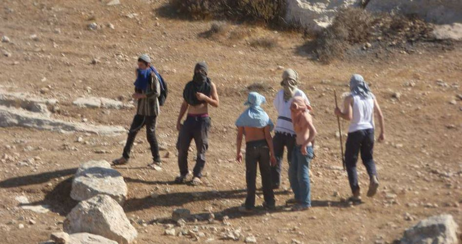 Violations of settlers