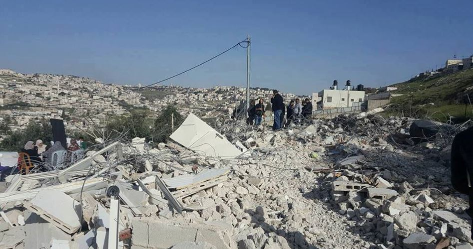 3 Homes demolished al-Jeftlik