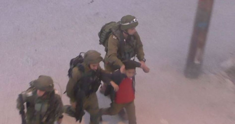 Child arrested al-Khalil
