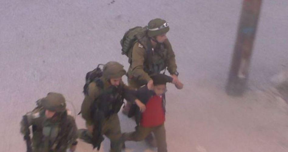 Child arrested al-Khalil