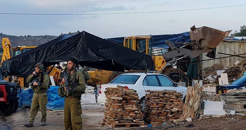 Demolition facilities Yatta