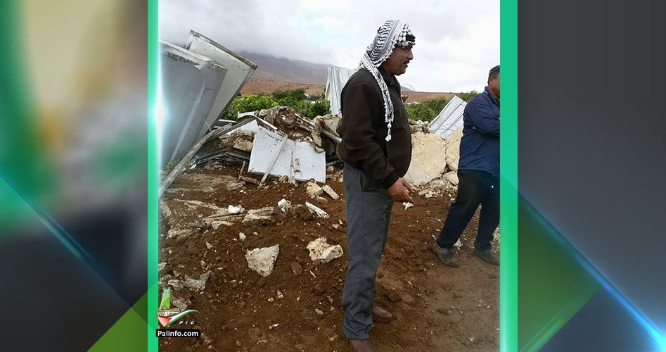 Demolition house Froush Beit Dajan