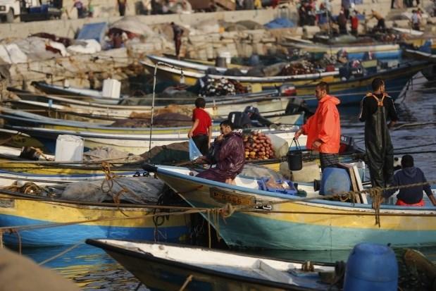 Fishermen Gaza