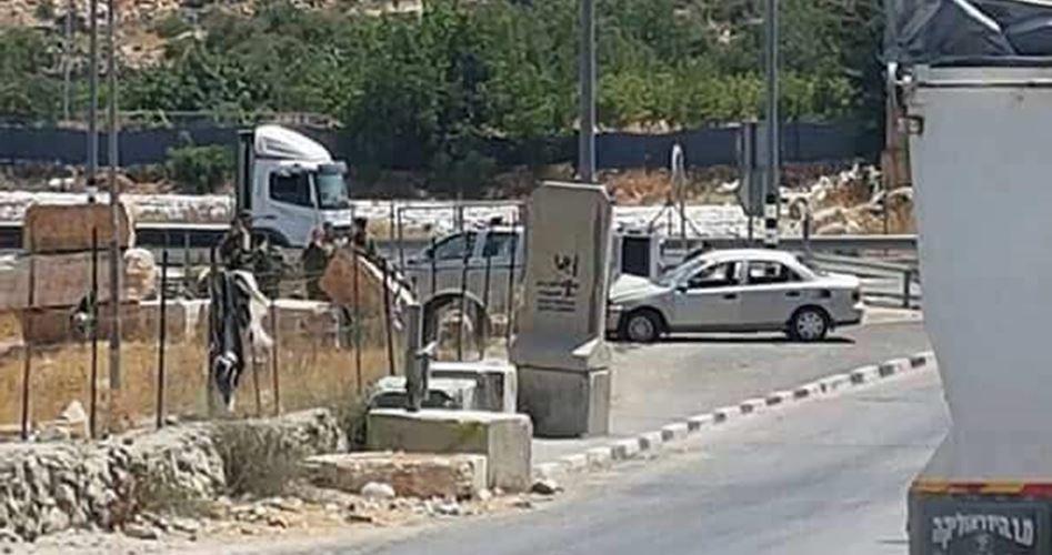 Military checkpoint al-Khalil