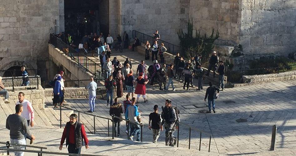 More police Jerusalem Old City