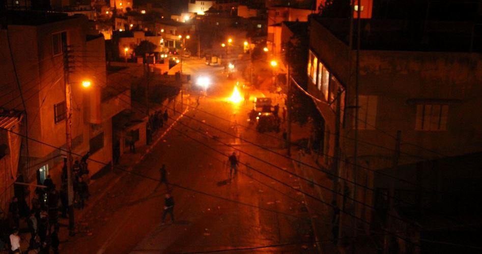 Clashes Al Quds