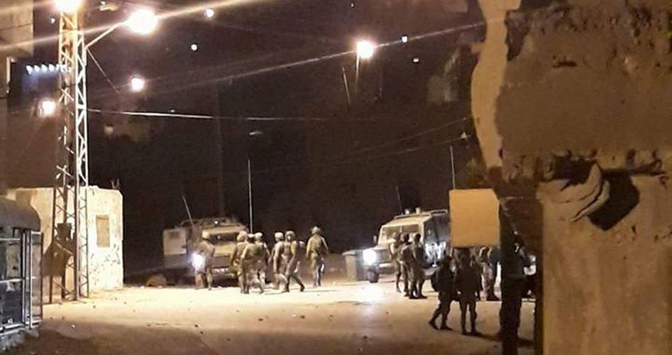 Clashes Beit Fourik