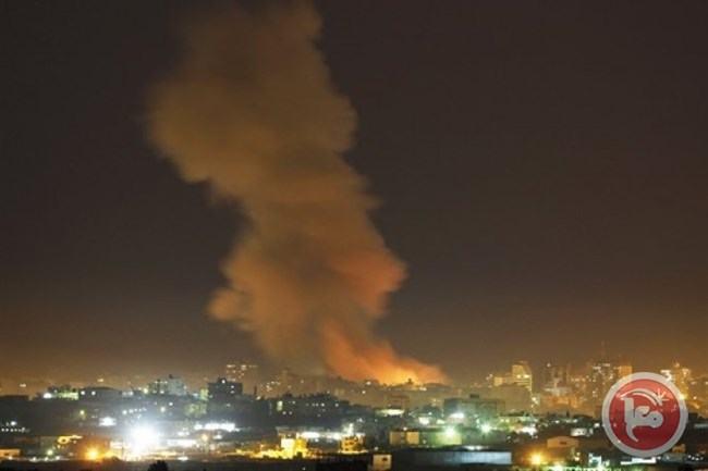 Gaza Saturday morning airstrikes