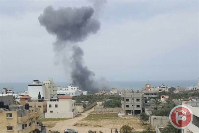 Gaza strip attackted again