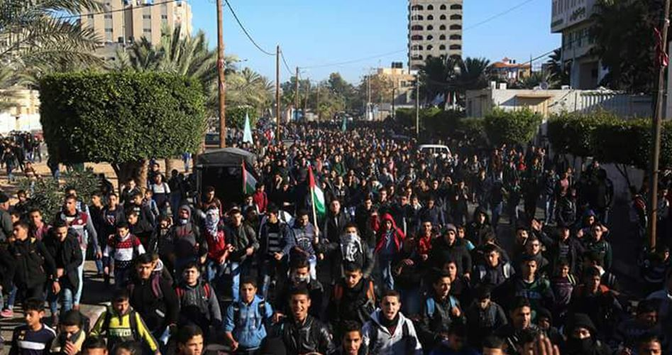 Great march Gaza on Friday