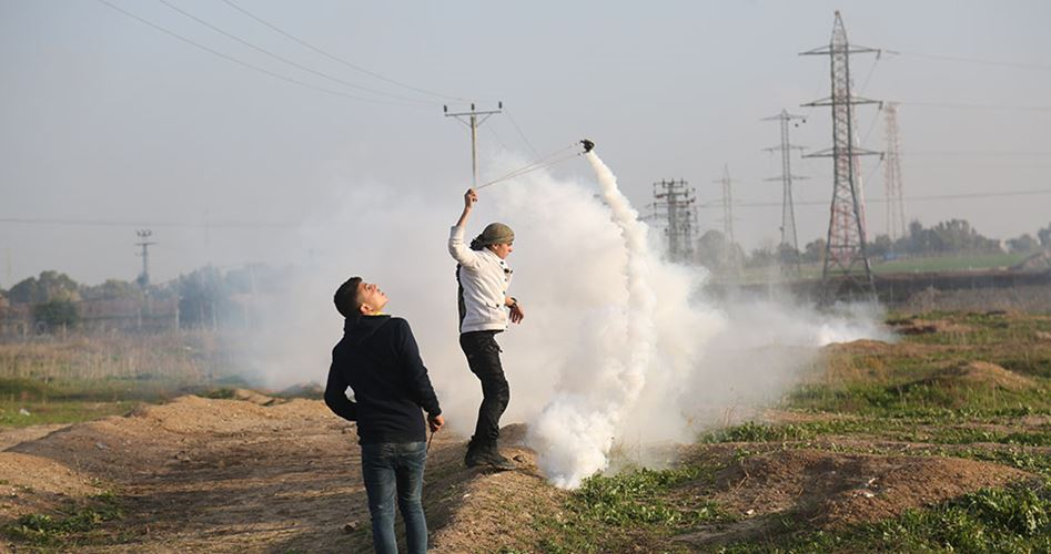 Clashes IOF GAZA