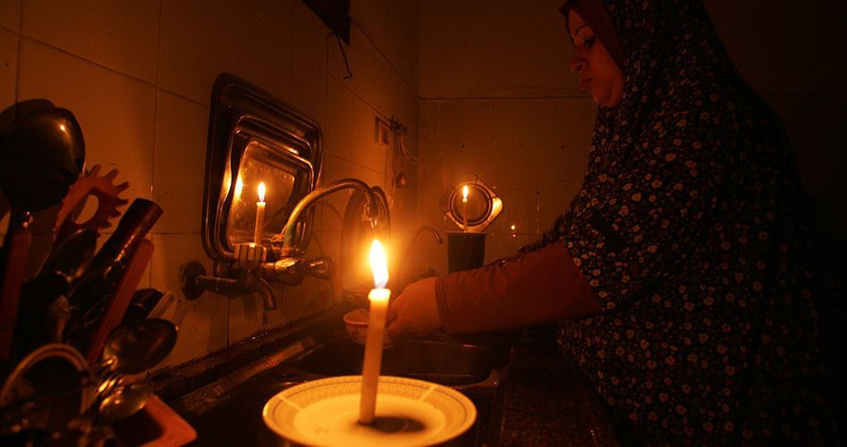 Electricity crisis Gaza