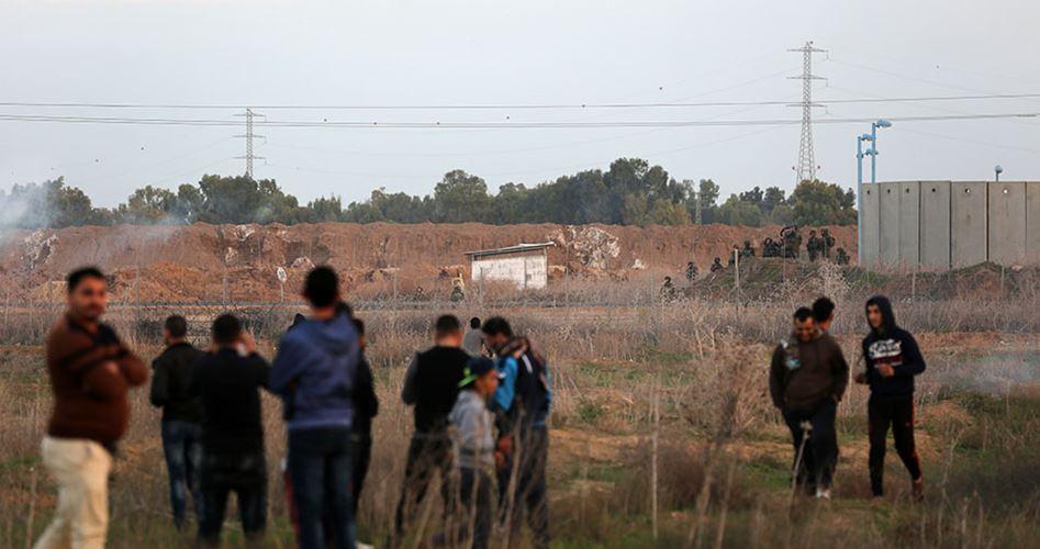 Injured east of Gaza