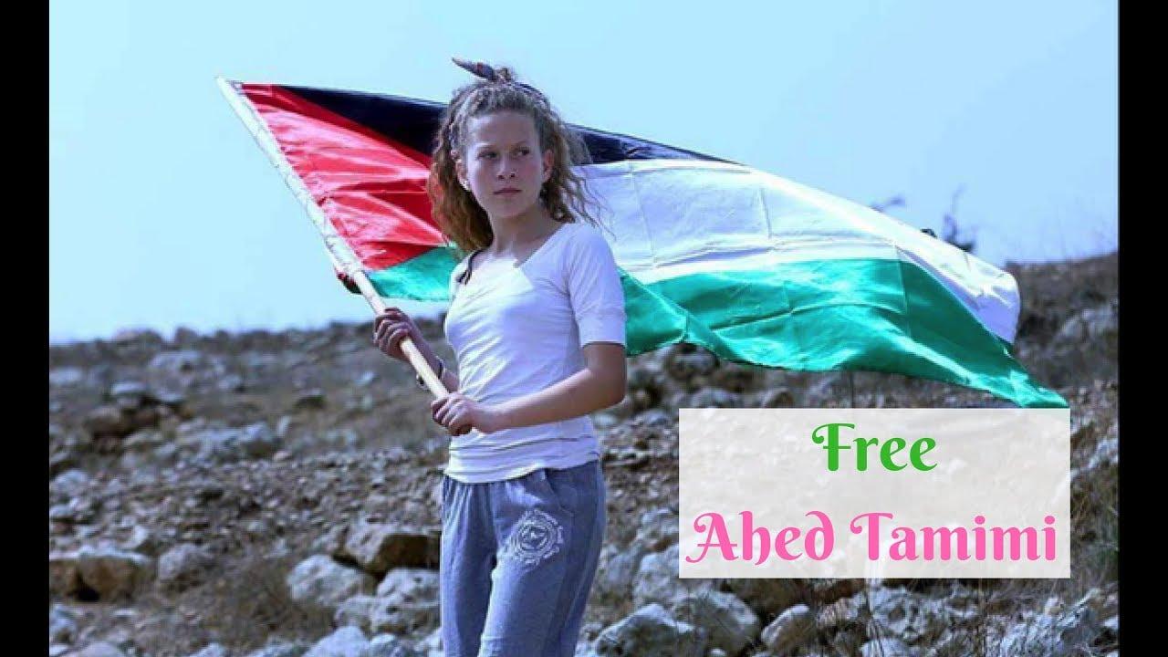 Ahed al-Tamimi YouTube