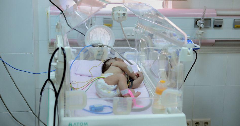 Dead of newborn