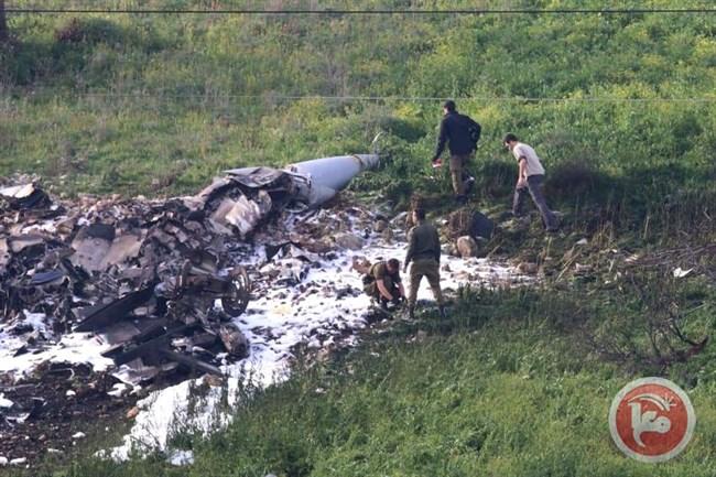 F16 shot down