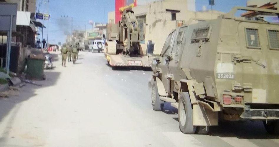 Military presence Nablus