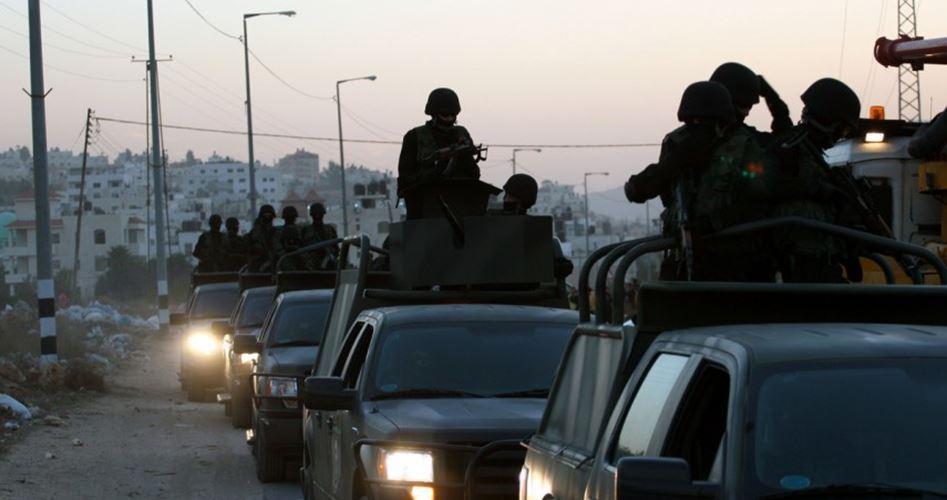 PA arrest Palestinians