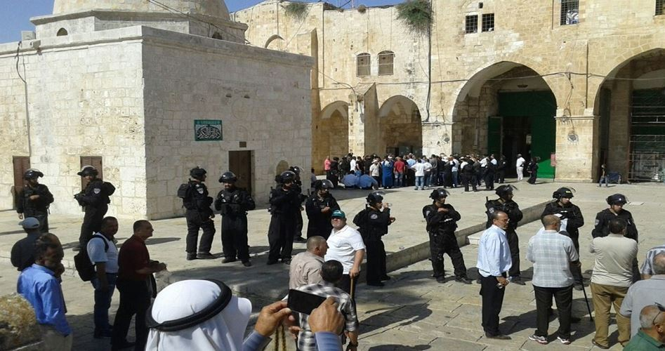 US MP break in Al Aqsa
