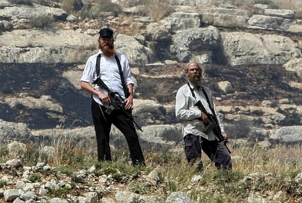 Armed settlers Yitzhar