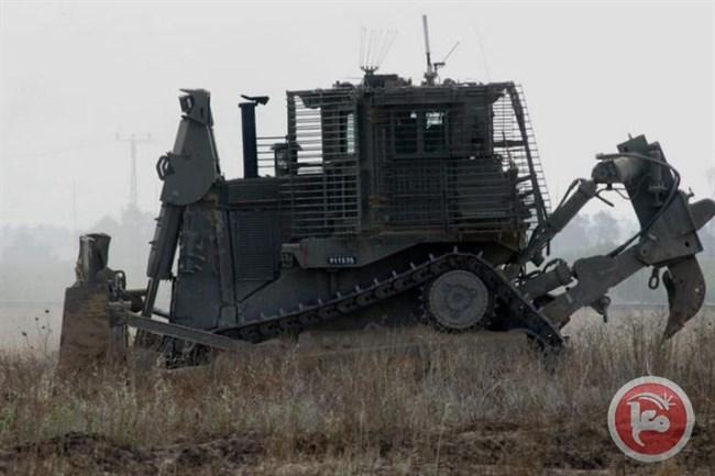 Bulldozers Entering Gaza