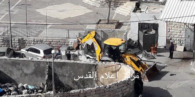 Demolition house Silwan
