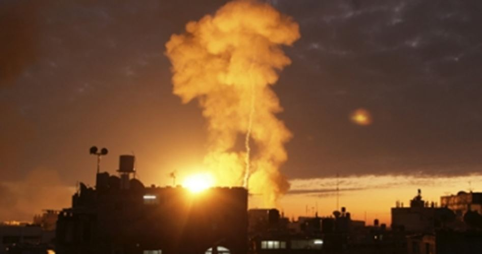 Multiple aerial attacks Gaza