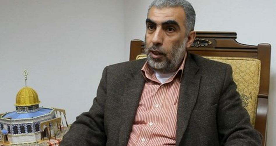 Sheikh Kamal al-Khatib and settlers