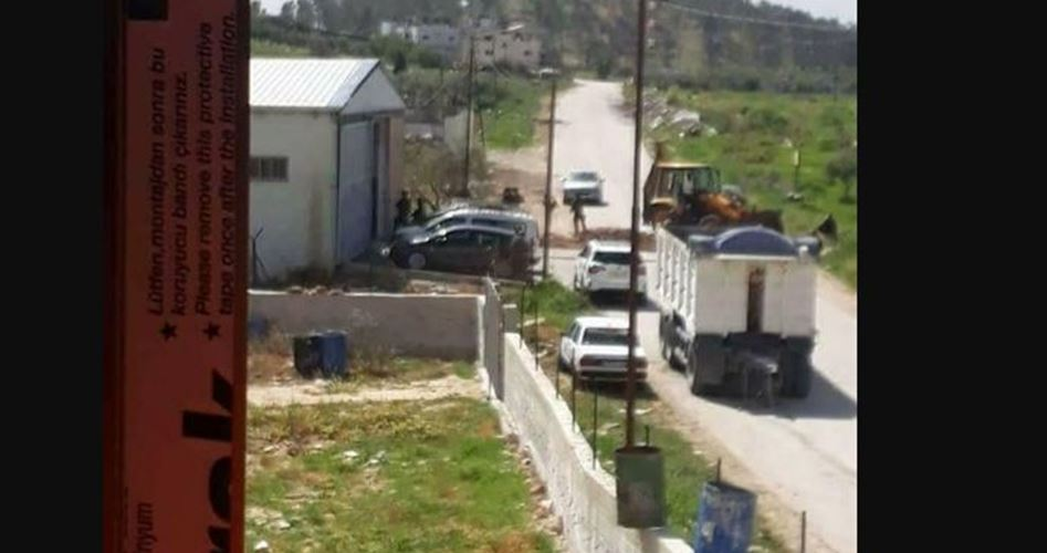 Worker kidnapped Nablus