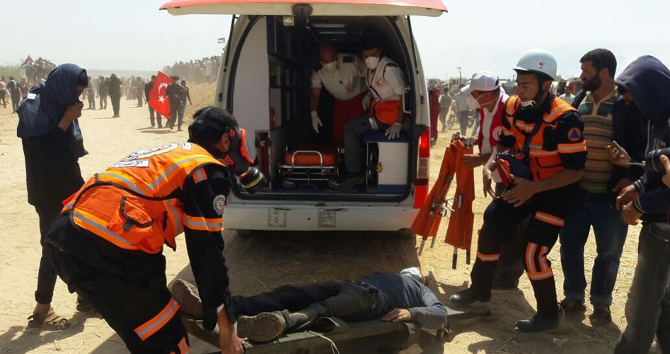 12 injured Gaza
