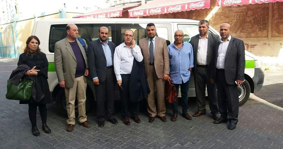 Doctor delegation Gaza