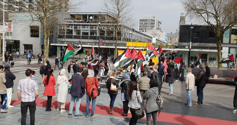 Protest Rotterdam