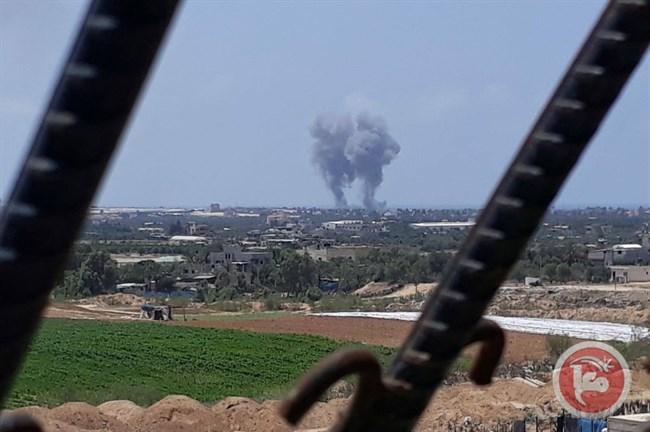 Airstrikes Gaza Strip