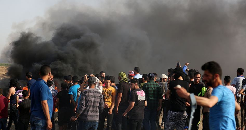 Friday Gaza protests